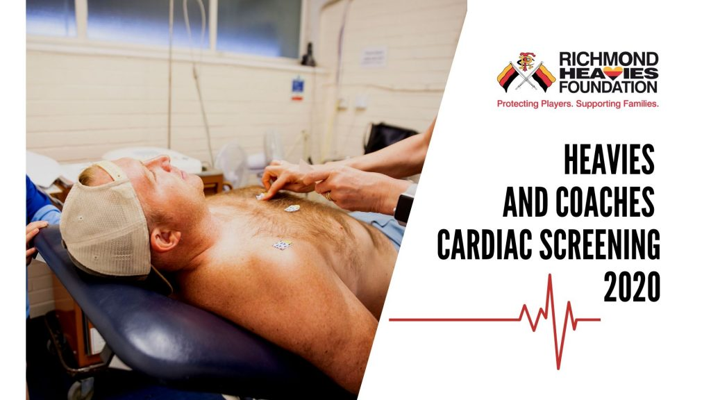 Heavies & Coaches Cardiac Screening 2020